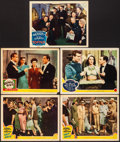 """Movie Posters:Musical, Ship Ahoy & Other Lot (MGM, 1942). Fine/Very Fine. Lobby Cards (9) (11"""" X 14""""). Musical.. ... (Total: 9 Items)"""