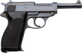 Handguns:Semiautomatic Pistol, Walther Zero Series, 4th Variation P.38 Semi-Automatic Pistol.. ...