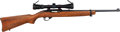 Long Guns:Semiautomatic, Ruger Model 10/22 Semi-Automatic Carbine with Telescopic Sight.. ...