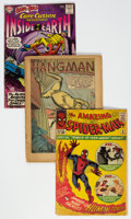 Golden Age (1938-1955):Miscellaneous, Golden and Silver Age Low Grade Incomplete/Coverless Comics Group of 45 (Various Publishers, 1940s-60s) Condition: Average PR....