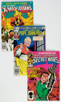 Modern Age (1980-Present):Miscellaneous, Marvel Modern Age Short Box Group (Marvel, 1980s) Condition: Average FN....