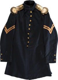 Union Corporal's Forage Cap & Frock Coat Set Id'D to Corp. George Schmultz, ... (Total: 2)