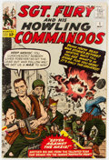 Silver Age (1956-1969):War, Sgt. Fury and His Howling Commandos #1 (Marvel, 1963) Condition: PR....