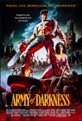 "Movie Posters:Horror, Army of Darkness (Universal, 1992). Rolled, Very Fine/Near Mint.One Sheet (26.75"" X 39.75"") SS. John Bolton Artwork. Horror..."