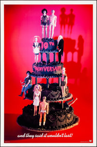"""The Rocky Horror Picture Show (20th Century Fox, R-1985). Rolled, Very Fine-. 10th Anniversary One Sheet (27"""" X 41&..."""