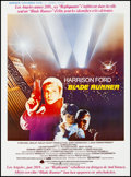 "Movie Posters:Science Fiction, Blade Runner (Warner Brothers, 1982). Fine+ on Linen. TrimmedBelgian (14"" X 19.5""). Science Fiction.. ..."
