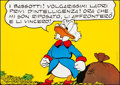 """Movie Posters:Comedy, Uncle Scrooge (Walt Disney Productions, c.1960s). Very Fine onLinen. Italian Poster (27"""" X 19""""). Comedy.. ..."""