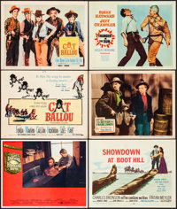 High Plains Drifter & Other Lot (Universal, 1973). Overall: Very Fine-. Lobby Cards (15), Title Lobby Card, Lobby Ca...