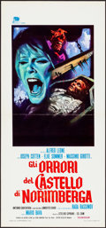 "Movie Posters:Horror, Baron Blood (Jumbo, 1972). Folded, Very Fine-. Italian Locandina(12.75"" X 27.5""). Horror.. ..."