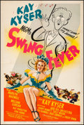 "Movie Posters:Musical, Swing Fever (MGM, 1944). Fine+ on Linen. One Sheet (27.25"" X 41""). Musical. From the Collection of Frank Buxton, of which ..."