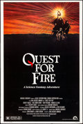 Movie Posters:Adventure, Quest for Fire & Other Lot (20th Century Fox, 1982). Overall: Very Good/Fine on Foam-Core. One Sheet & Trimmed One Sheet (27... (Total: 2 Items)