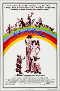 "Under the Rainbow & Other Lot (Orion, 1981). Folded, Overall: Fine/Very Fine. One Sheets (17) (27"" X 41&quo..."