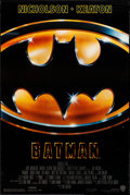 "Movie Posters:Action, Batman (Warner Brothers, 1989). Rolled, Very Fine-. One Sheet (27""X 40.5"") SS. Action.. ..."