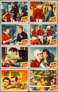 """Movie Posters:Adventure, To Please a Lady (MGM, 1950). Very Fine-. Lobby Card Set of 8 (11""""X 14""""). Adventure.. ... (Total: 8 Items)"""