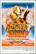 "Movie Posters:Comedy, Blazing Saddles & Other Lot (Warner Brothers, 1974). Folded,Very Fine. One Sheets (2) (27"" X 41""). John Alvin Artwor..."