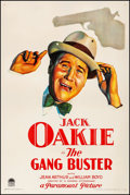 """Movie Posters:Comedy, The Gang Buster (Paramount, 1931). Fine/Very Fine on Linen. OneSheet (27"""" X 41""""). Comedy.. ..."""