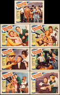 "Movie Posters:Musical, College Rhythm (Paramount, 1934). Very Fine-. Lobby Cards (7) (11"" X 14""). Musical.. ... (Total: 7 Items)"