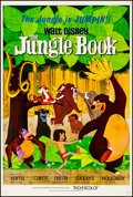 "Movie Posters:Animation, The Jungle Book (Buena Vista, 1967). Very Fine- on Linen. One Sheet (27"" X 41"") Paul Wenzel Artwork. Animation.. ..."