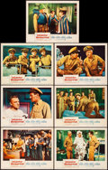 """Movie Posters:Comedy, Mister Roberts (Warner Brothers, 1955). Very Fine-. Lobby Cards (7)(11"""" X 14""""). Comedy.. ... (Total: 7 Items)"""