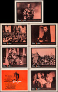 """Movie Posters:Drama, Saint Joan (United Artists, 1957). Very Fine. Title Lobby Card& Lobby Cards (6) (11"""" X 14""""). Saul Bass Title Card Artwork.... (Total: 7 Items)"""