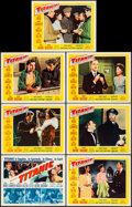 "Movie Posters:Drama, Titanic (20th Century Fox, 1953). Very Fine-. Title Lobby Card& Lobby Cards (6) (11"" X 14""). Drama.. ... (Total: 7 Items)"