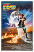 """Movie Posters:Science Fiction, Back to the Future (Universal, 1985). Rolled, Very Fine+. One Sheet(27"""" X 41""""). Drew Struzan Artwork. Science Fiction.. ..."""