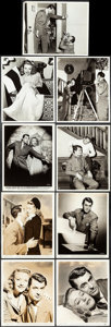 "Movie Posters:Comedy, Arsenic and Old Lace (Warner Brothers, 1944). Fine/Very Fine. Behind-the-Scenes Photos (4) & Photos (14) (Approx. 8"" X 10"").... (Total: 18 Items)"