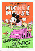 "Movie Posters:Animation, Barnyard Olympics (Circle Fine Art, R-1980). Overall: Very Fine/Near Mint. Fine Art Serigraphs (10) Identical (21"" X 30.75"")... (Total: 10 Items)"
