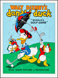 """Movie Posters:Animation, Donald's Golf Game (Circle Fine Art, R-1980s). Near Mint. Fine Art Serigraphs (10) Identical (22.75"""" X 30.5""""). Animation.. ... (Total: 10 Items)"""
