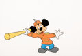 """Animation Art:Production Cel, The Mickey Mouse Club """"Circus Day"""" Mickey Mouse Production Cel (Walt Disney, 1955)...."""