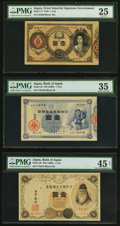 World Currency, Japan Greater Japan Imperial Government Note 1 Yen 1878 Pick 17JNDA 11-19 PMG Very Fine 25;. Bank of Japan 1 Yen ND (18... (Total:3 notes)