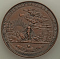 (1895) Society of the Cincinnati Medal. Smedley-17. Bronze, 45 mm. Dies engraved by Victor D. Brenner