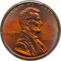 Lincoln Cents, 1997 1C MS68 Red PCGS. PCGS Population: (28/0). NGC Census: (29/1). . From Charlie O's Collection. ...