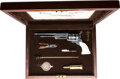 Handguns:Single Action Revolver, Cased Re-Issue Colt Paterson 1836 Single Action Revolver.. ...