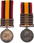 Militaria:Insignia, Lot of Two British Queen's South Africa Medals.. ... (Total: 2 Items)
