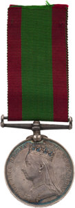 Militaria:Insignia, British Afghanistan Medal 1878-79-80 to a Private in the 70th Regiment of Foot.. ...