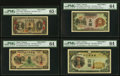 World Currency, China Bank of Taiwan Limited 1 Yen ND (1944) Pick 1925s2 Specimen PMG Gem Uncirculated 65 EPQ;. 5 Yen ND (1944) Pick 192... (Total: 4 notes)