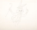 Animation Art:Production Drawing, The Bugs Bunny Show Bugs Bunny Animation Drawing (Warner Brothers, 1961)....