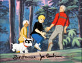 Animation Art:Production Cel, Jonny's Golden Quest Multi-Character Production Cel Setup (Hanna-Barbera, 1993)....