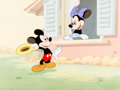 """Animation Art:Limited Edition Cel, """"Little Whirlwind"""" Mickey Mouse and Minnie Mouse Limited Edition Cel #69/950 (Walt Disney, 1988).... (Total: 2 Items)"""