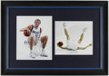 Autographs:Photos, 2006 Dallas Mavericks Team Signed Rocking Horse with Dallas Morning News Photograph Display (16 Signatures).... (Total: 2 item)