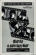 "Movie Posters:Rock and Roll, A Hard Day's Night (Universal, R-1982). Folded, Very Fine. OneSheet (27"" X 41""). Rock and Roll.. ..."