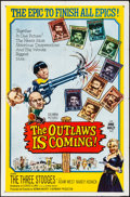 "Movie Posters:Comedy, The Outlaws is Coming (Columbia, 1965). Folded, Very Fine-. OneSheet (27"" X 41""). Comedy.. ..."