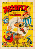 "Movie Posters:Animation, Asterix the Gaul (PAC, 1968). Folded, Fine+. Italian 4 - Fogli (55""X 77""). Animation.. ..."