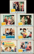 "Movie Posters:Comedy, Rally 'Round the Flag, Boys! (20th Century Fox, 1959). Fine/VeryFine. Title Lobby Card & Lobby Cards (6) (11"" X 14""). Comed...(Total: 7 Items)"