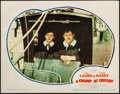 """Movie Posters:Comedy, A Chump at Oxford (United Artists, 1940). Fine/Very Fine. LobbyCard (11"""" X 14""""). Comedy. From the Collection of FrankBux..."""