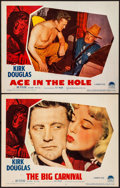 "Movie Posters:Film Noir, Ace In The Hole (Paramount, 1951). Very Fine. Lobby Cards (2) (11""X 14""). Film Noir. Working Title: The Big Carnival. Fro...(Total: 2 Items)"