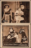 "Movie Posters:Comedy, The Bell Hop (Vitagraph, 1921). Very Fine. Title Lobby Card &Lobby Card (11"" X 14""). Comedy. From the Collection of Frank...(Total: 2 Items)"