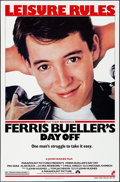"Movie Posters:Comedy, Ferris Bueller's Day Off (Paramount, 1986). Rolled, Very Fine/NearMint. One Sheet (27"" X 41"") SS. Comedy.. ..."