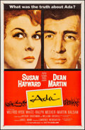 "Movie Posters:Drama, Ada & Other Lot (MGM, 1961). Folded, Very Fine-. One Sheets (3)(27"" X 41""). Drama.. ... (Total: 3 Items)"